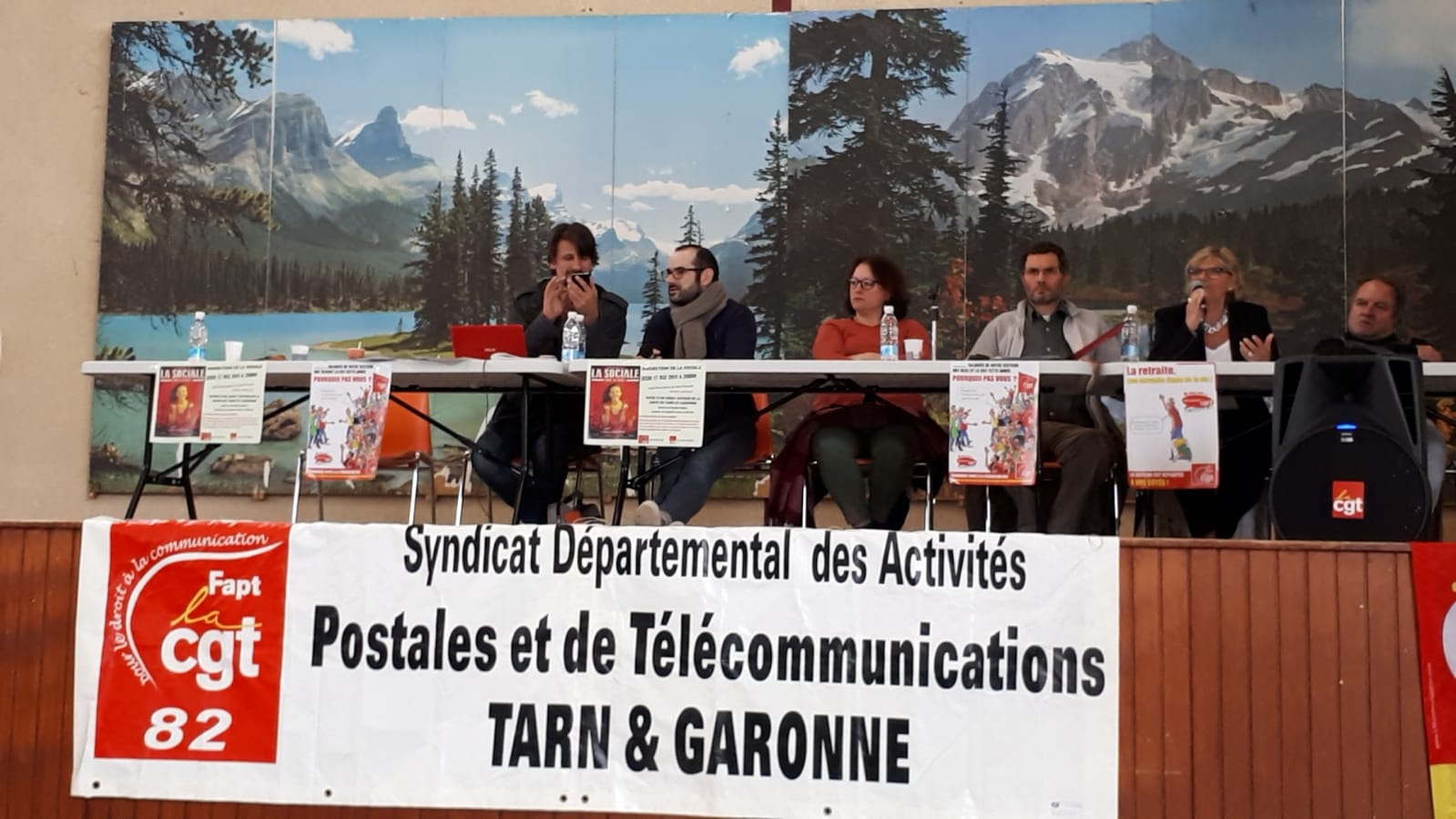 82d4543e2c4 Congrès CGT des Activités Postales et Télécommunications en Tarn et Garonne  des 18 mai et 19 mai 2018