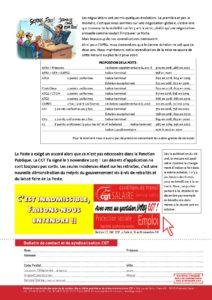 La Poste Evolution Des Grilles Indiciaires Des Fonctionnaires